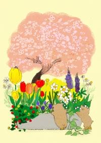 寄せ植え春