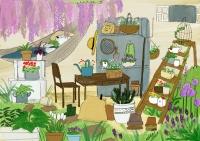 ものがいっぱいの庭-1