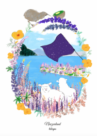 ニュージーランドテカポ湖