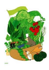 ヨルンと野菜畑