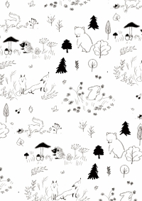 動物パターン