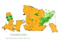 父の日クマ